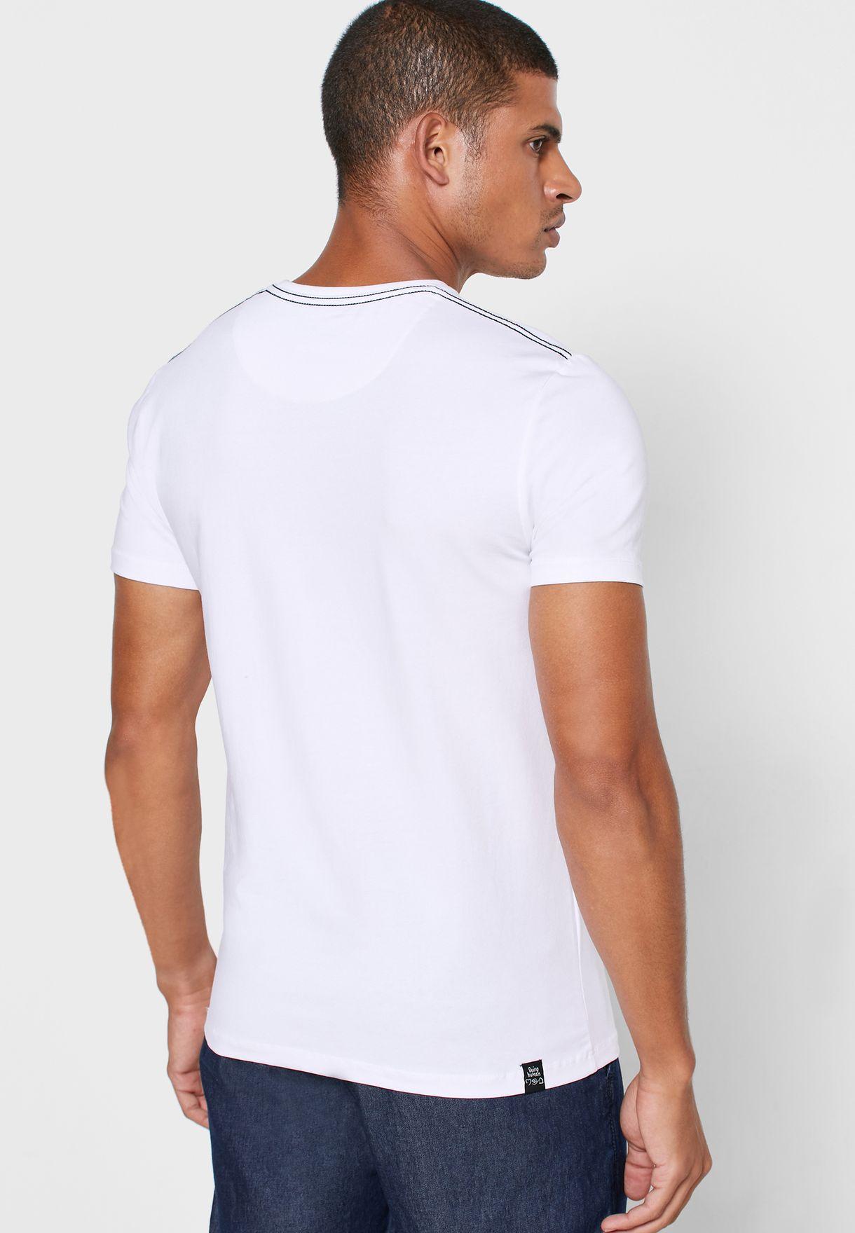 Graphic Logo Crew Neck T-Shirt