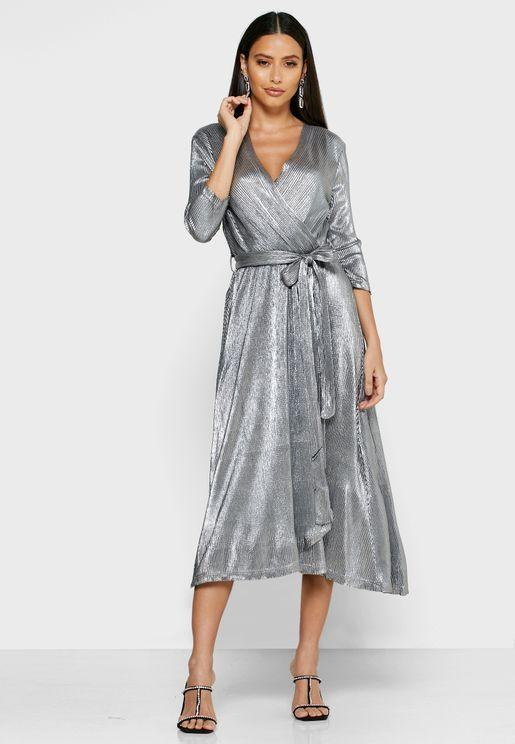 فستان ماكسي بليسيه لف