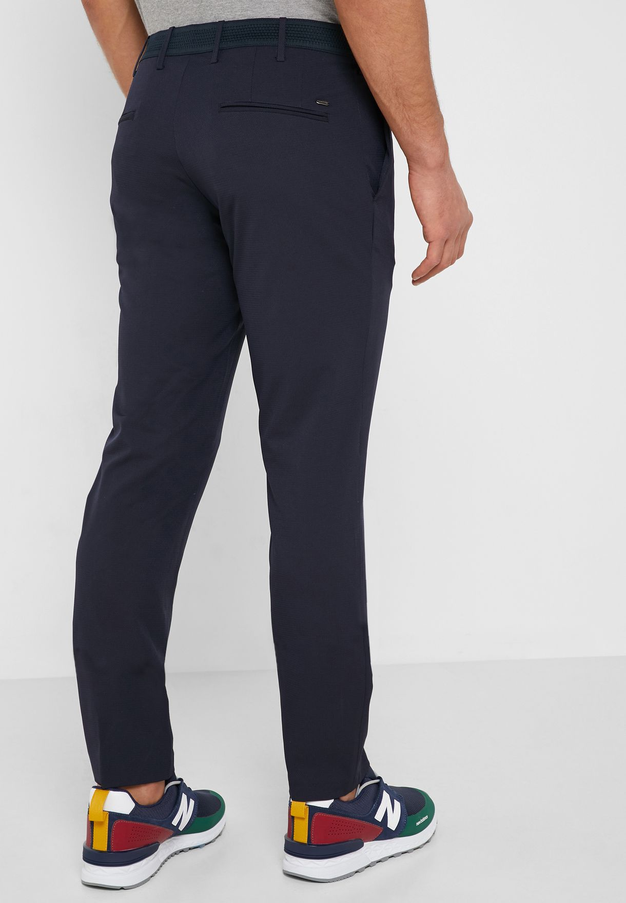 Angelo Slim Fit Trousers