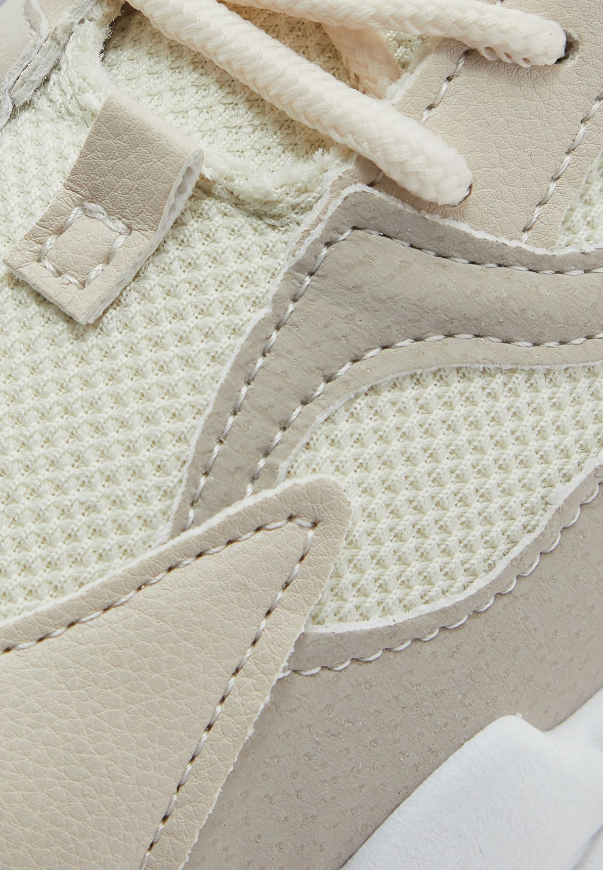 Chunky Sole Textured Sneaker