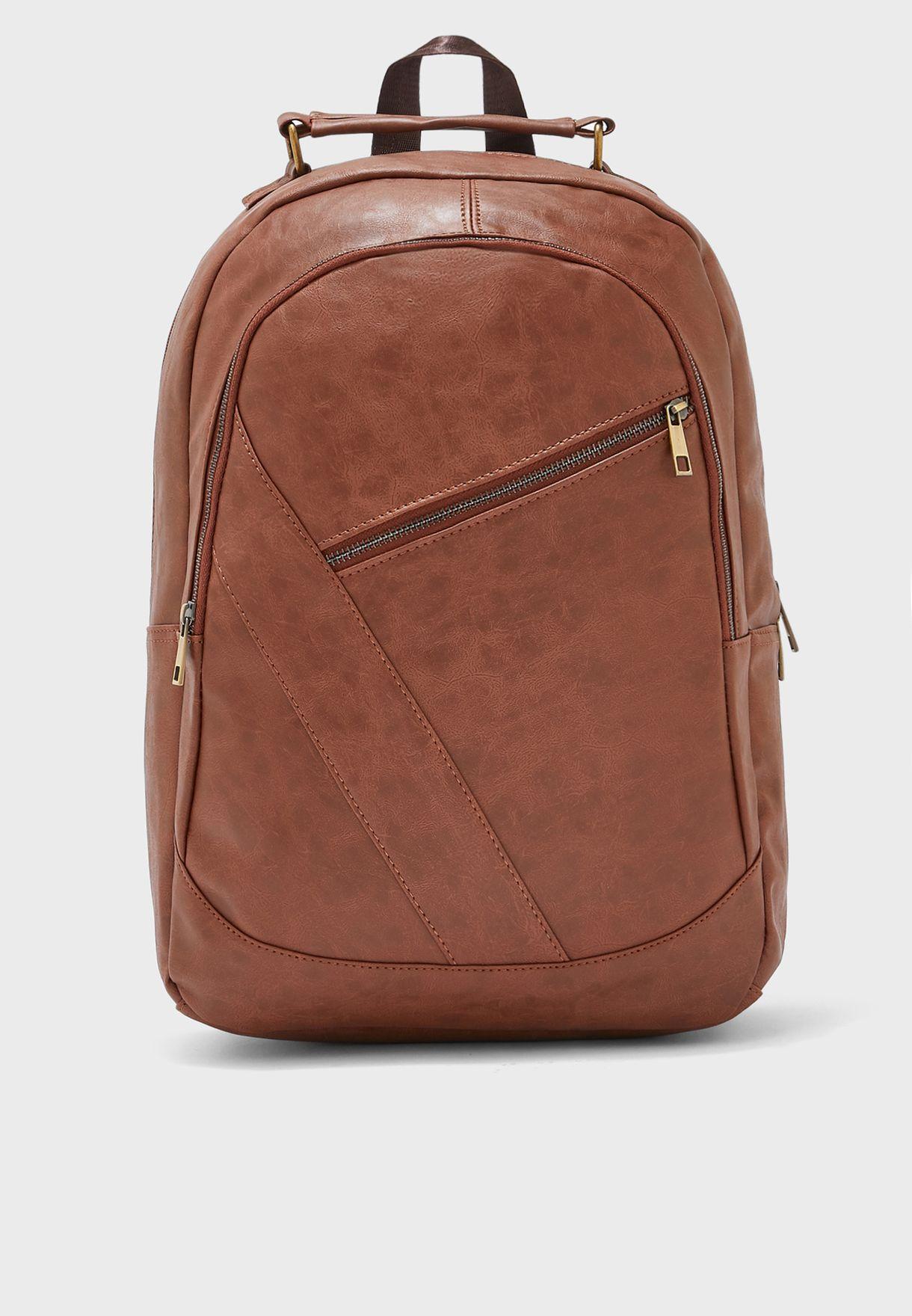 Smart PU Backpack