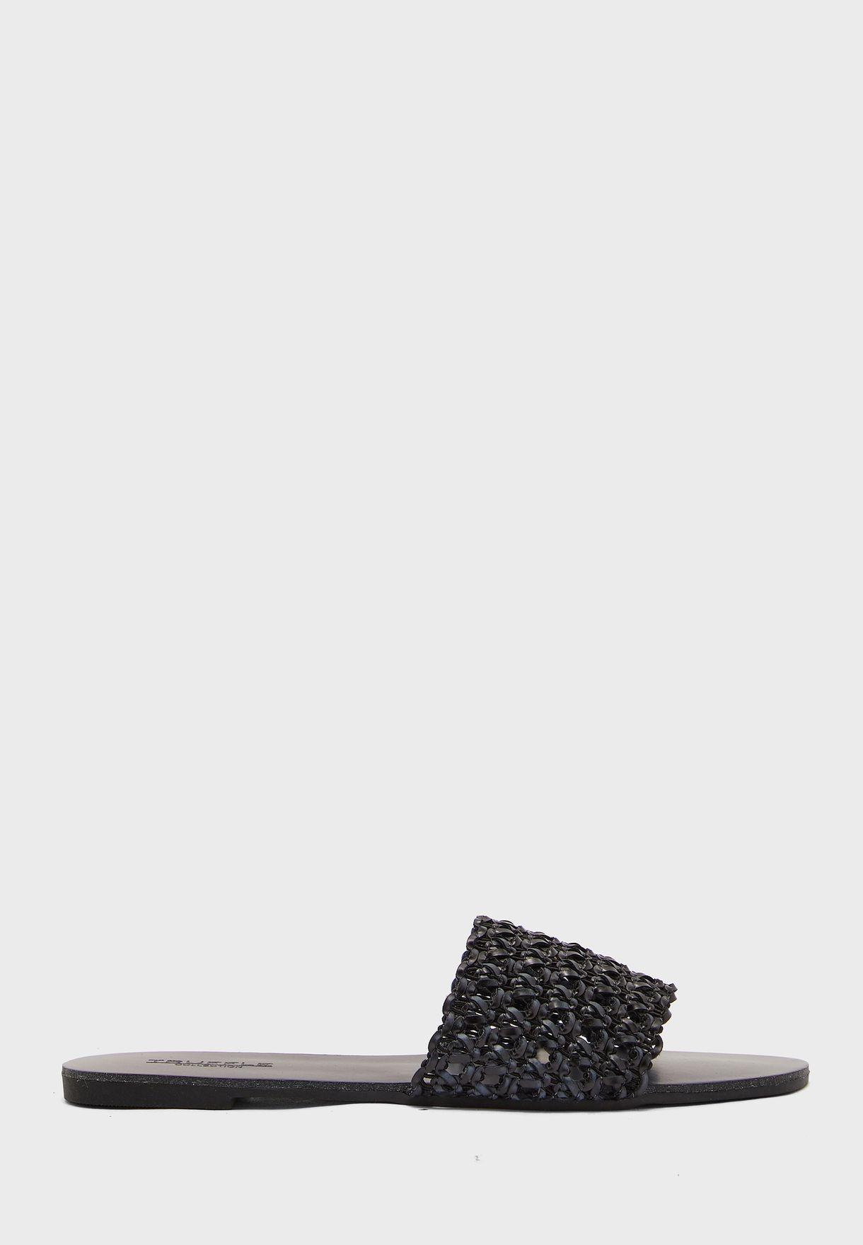 Woven Flat Sandals