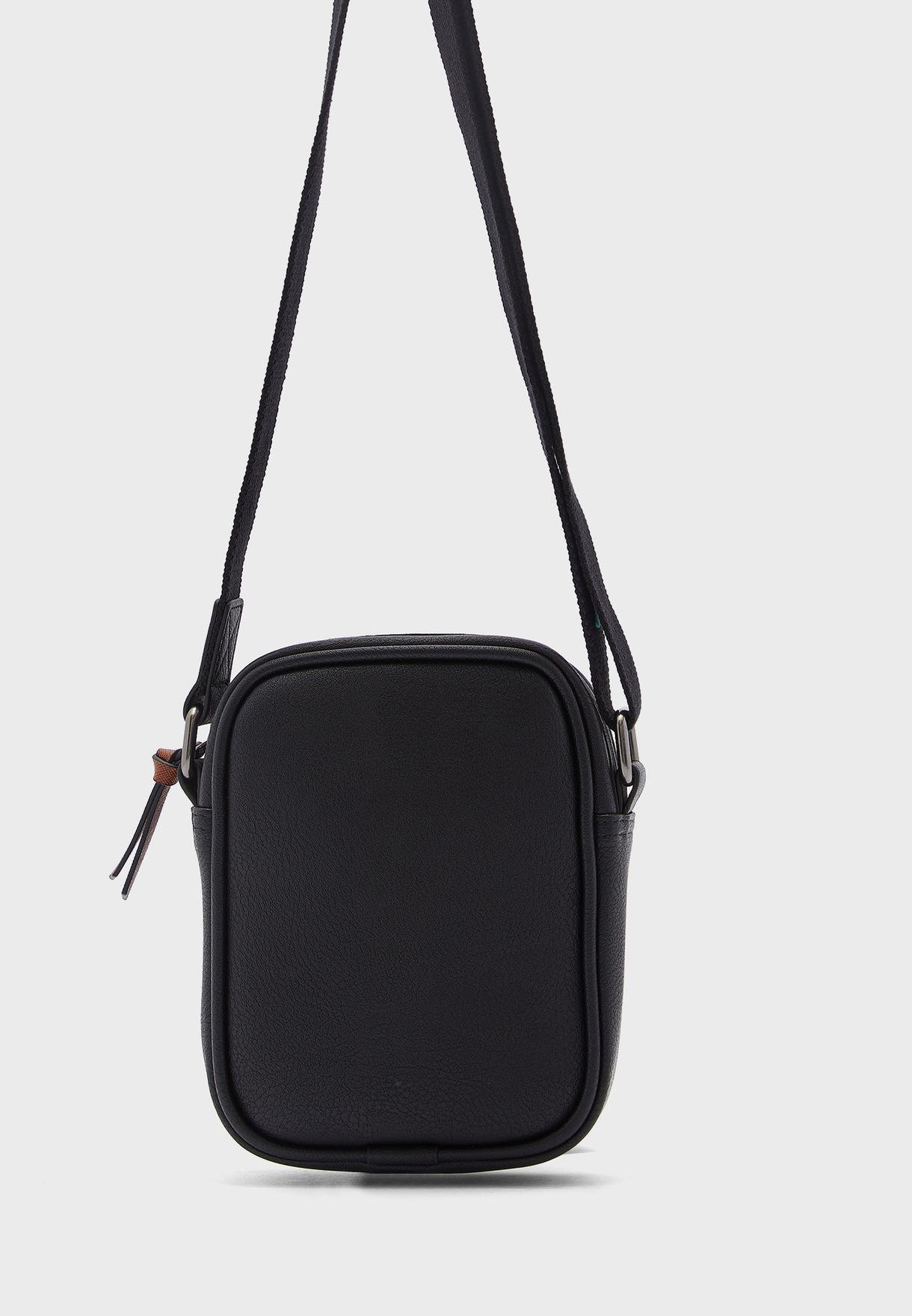 House Webbing Mini Messenger Bag
