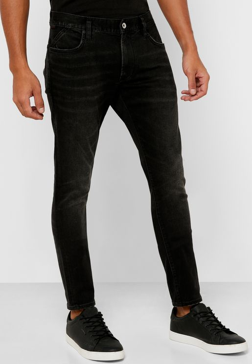 Matchstick Skinny Fit Dark Wash Jeans