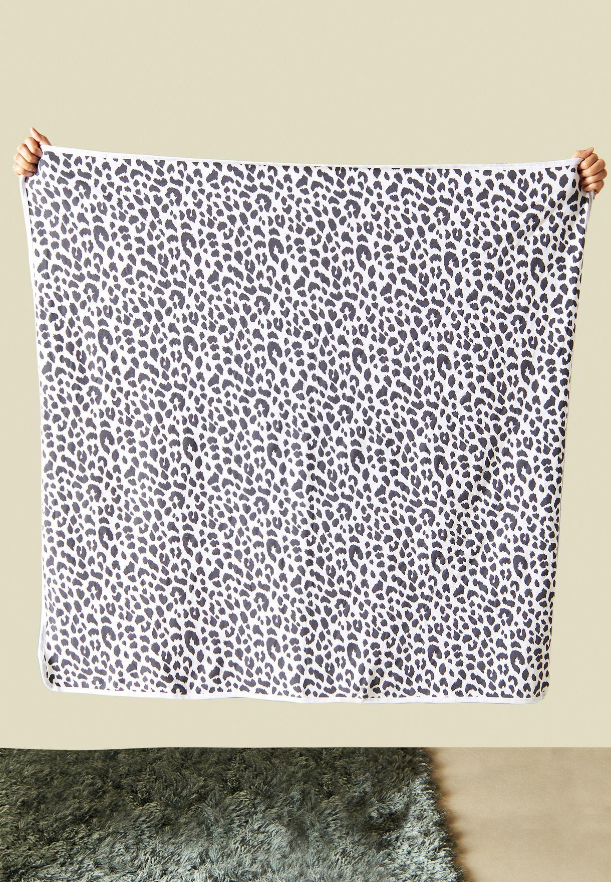 Kids Ocelot Printed Blanket