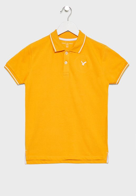 Kids Tipped Polo