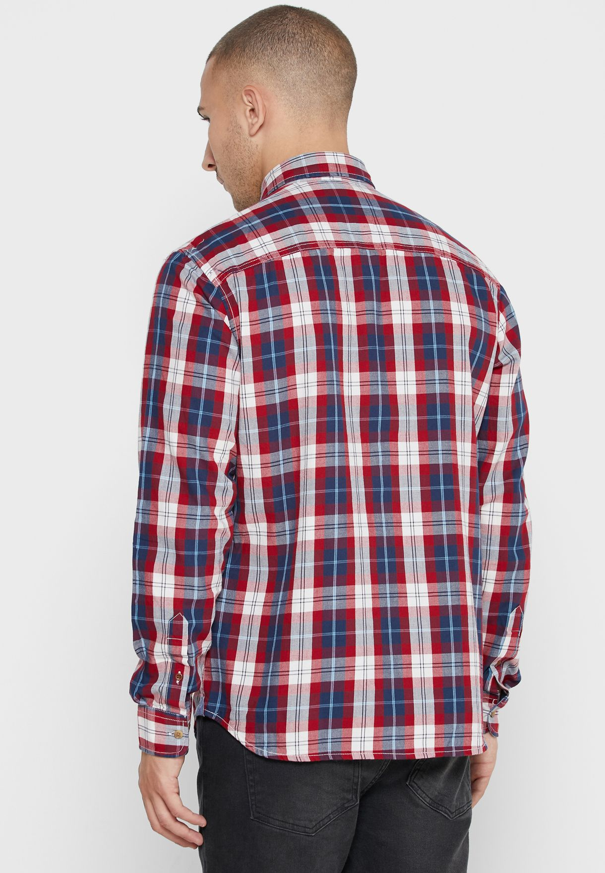 Dylan Checked Slim Fit Shirt