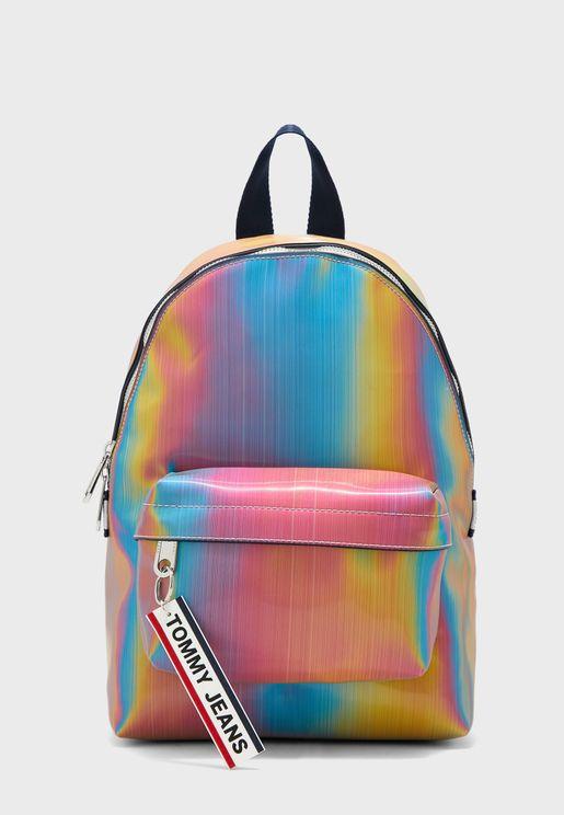 Logo Tape Holo Backpack