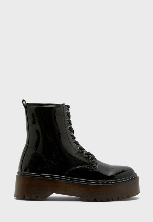 Skyler Low Heel Ankle Boot