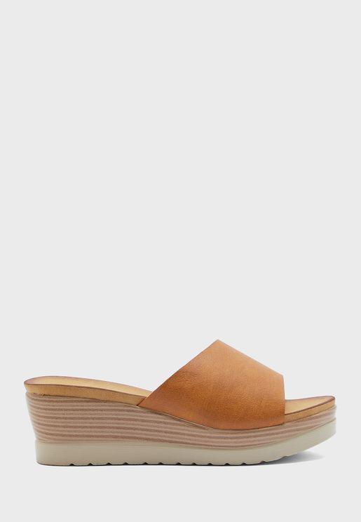 Casual Wedge Low Heel Sandal
