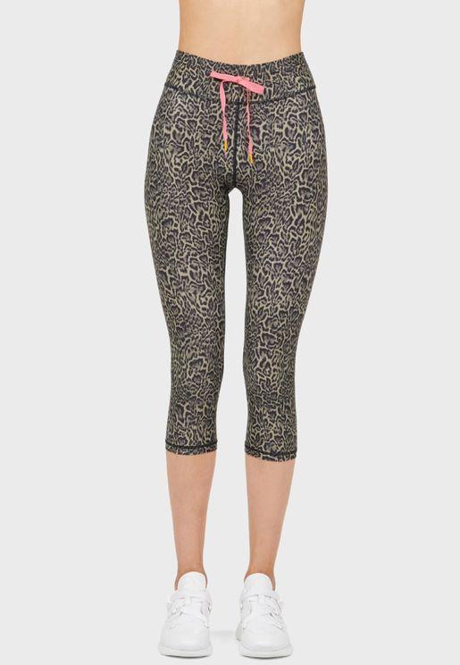 Leopard Nyc Track Pants