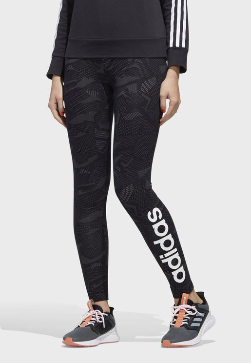 Logo AOP Leggings