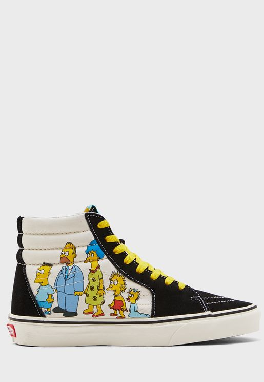 Simpsons SK8-Hi
