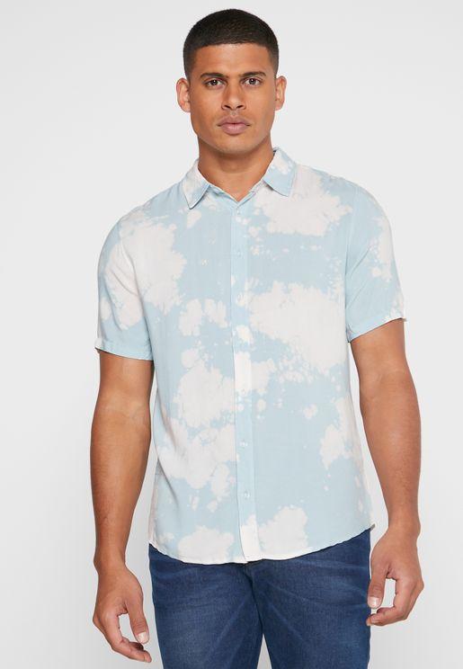 قميص بطبعات (تاي داي)