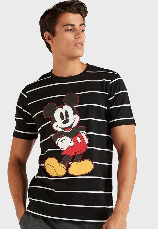 Mickey Mouse Raglan Pyjama Set