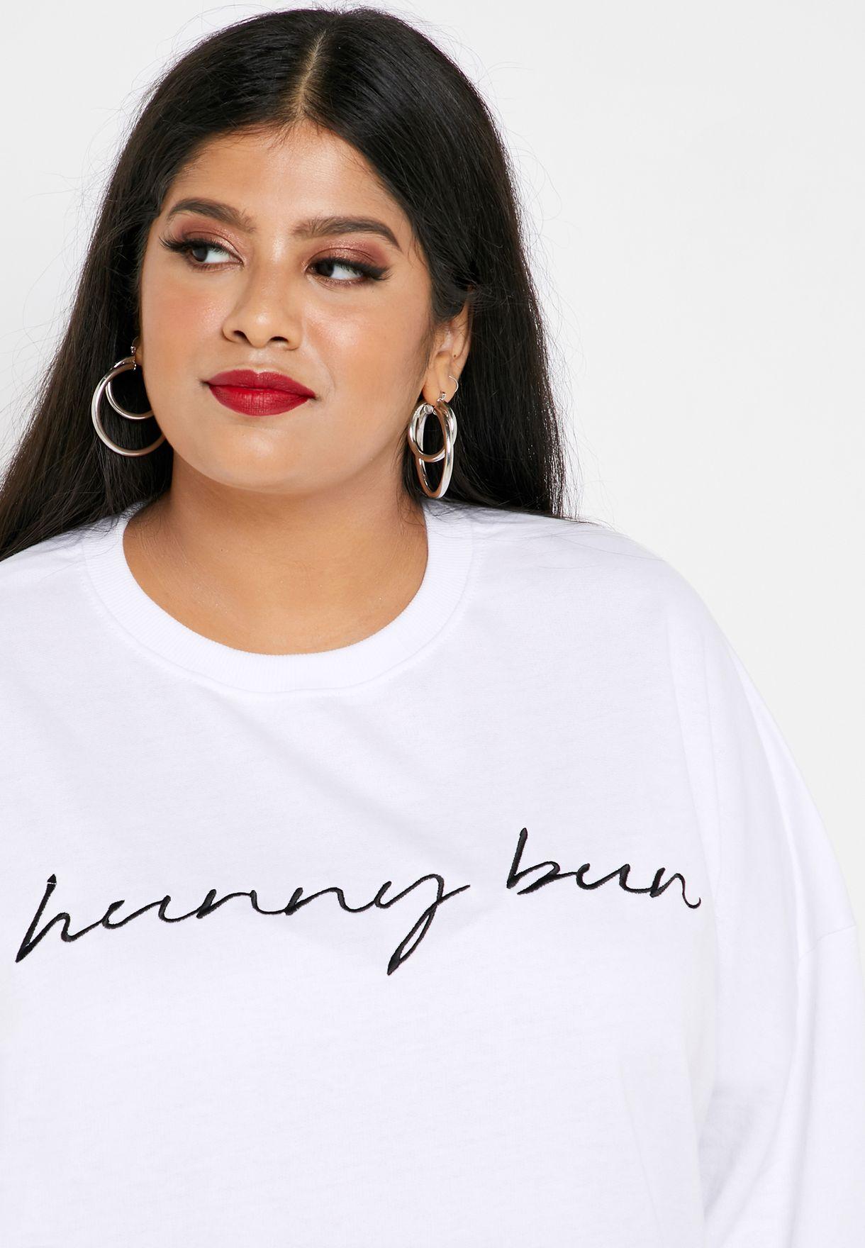 Slogan Sweat Dress