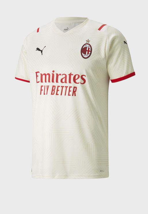 Ac Milan Away Replica 21/22 Jersey