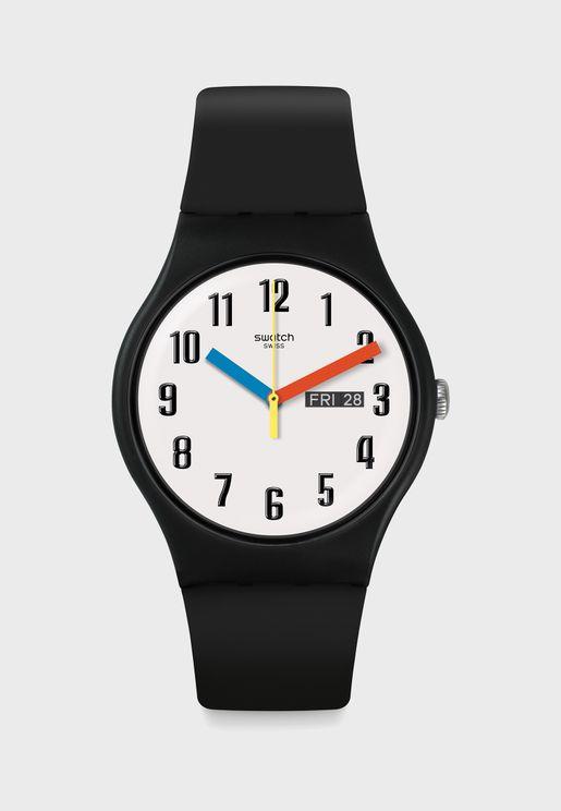 Elementary Analog Watch
