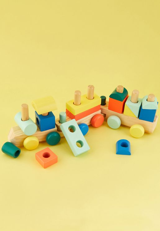 Kids Train Shape Toy
