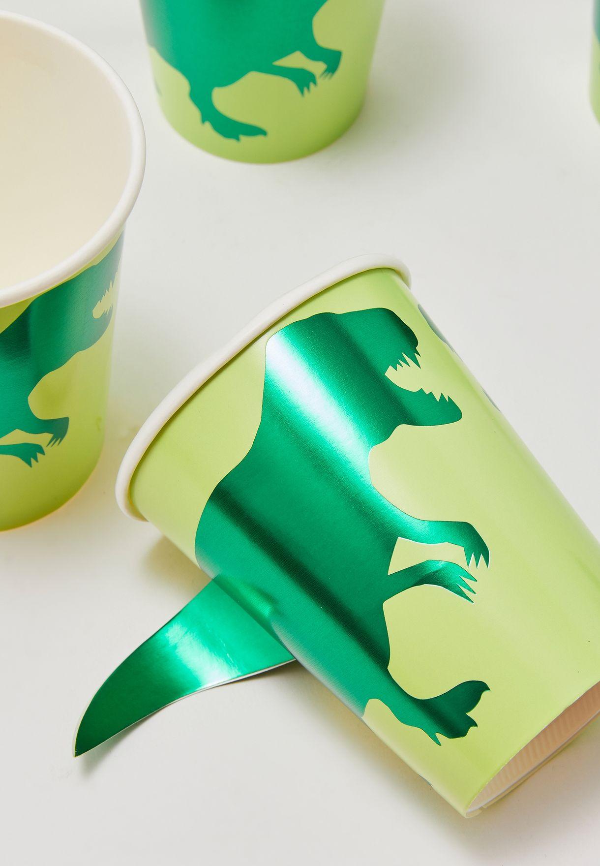 Dinosaur Cups 8 Pack