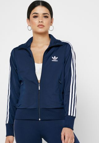 89bfb333b675fc Shop adidas white Heartracer Summer Jacket DT9363 for Women in Oman ...