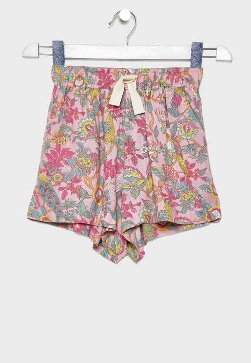 Kids Printed Skirt