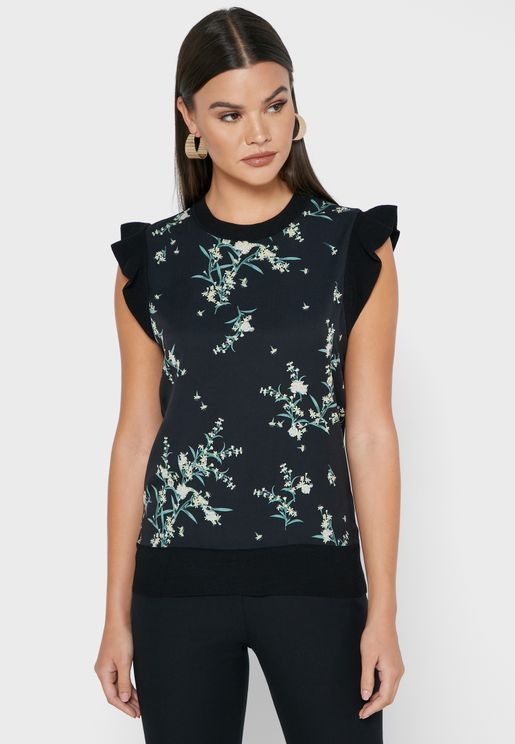 Zaphira Printed Top