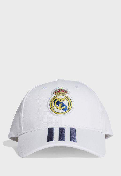 كاب بشعار ريال مدريد لكرة القدم