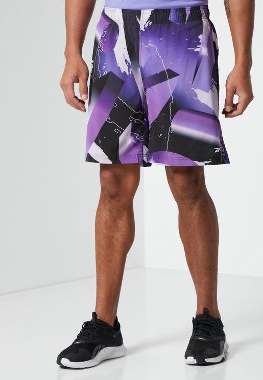 Austin Retro Vector Shorts