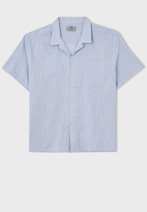 قميص باكمام قصيرة