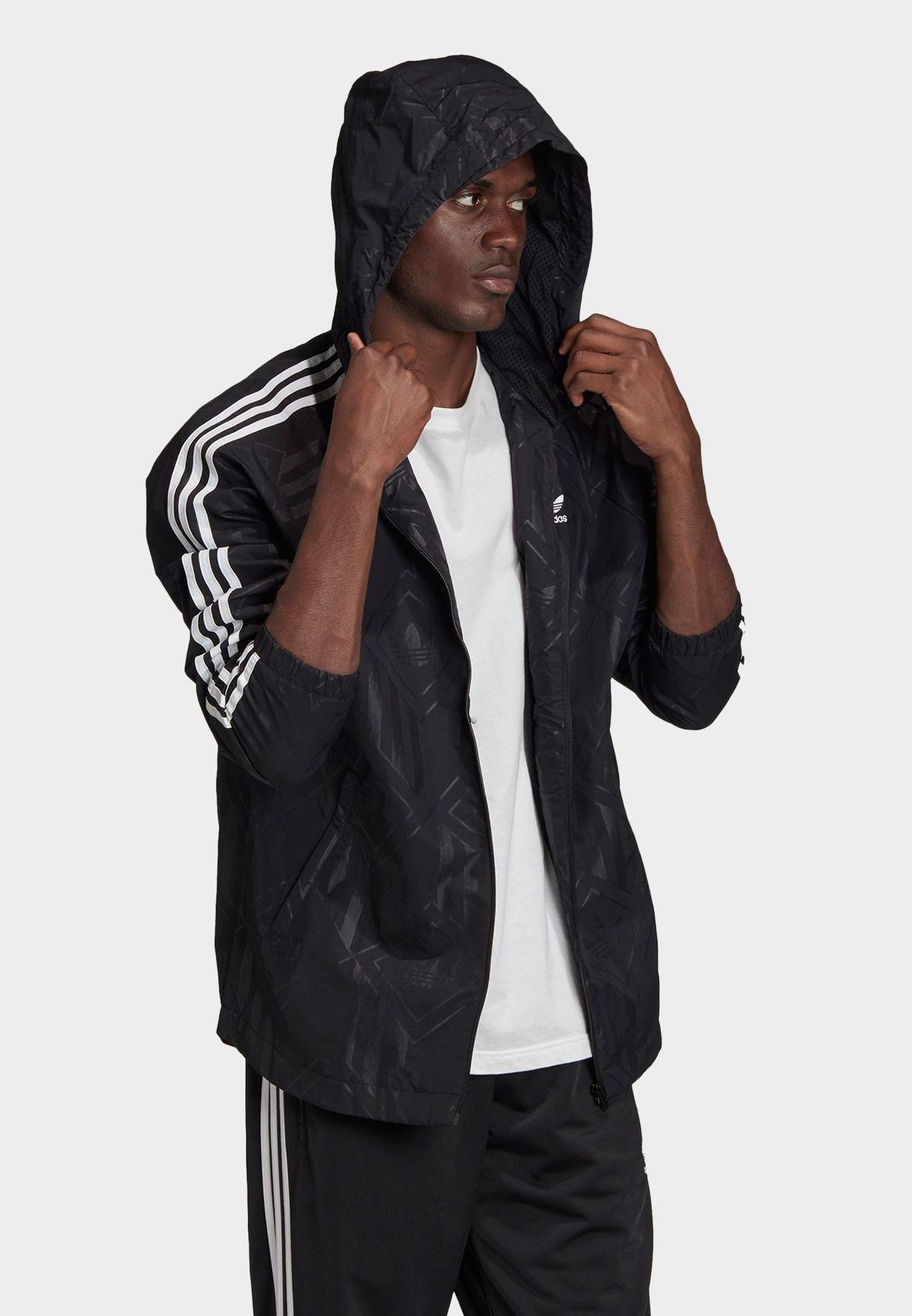 Mono Windbreaker Jacket