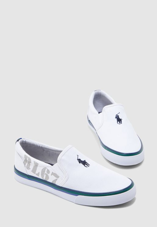 Youth Side Elastic Slip On