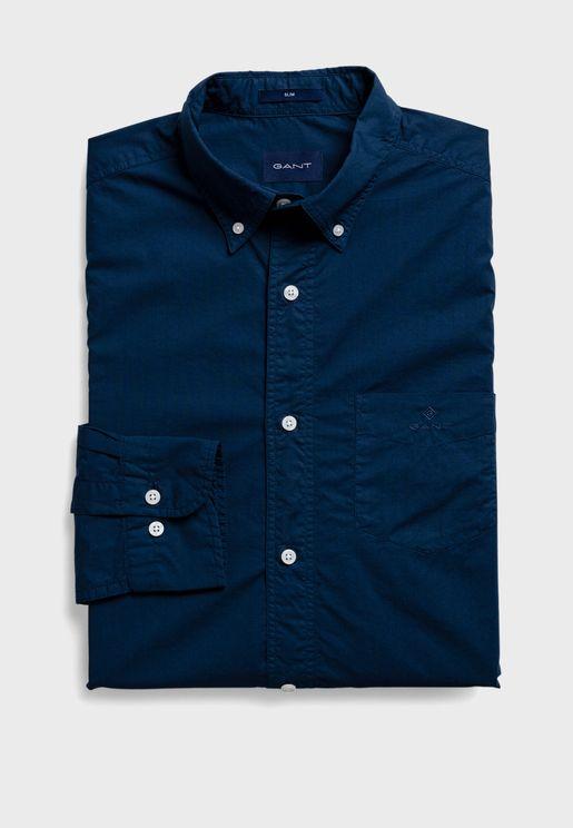 قميص سليم فت بأزرار