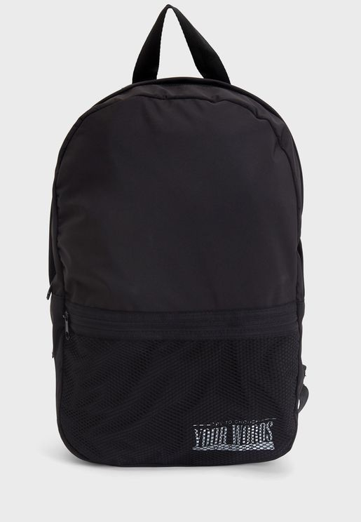 Zip Closure Backpack