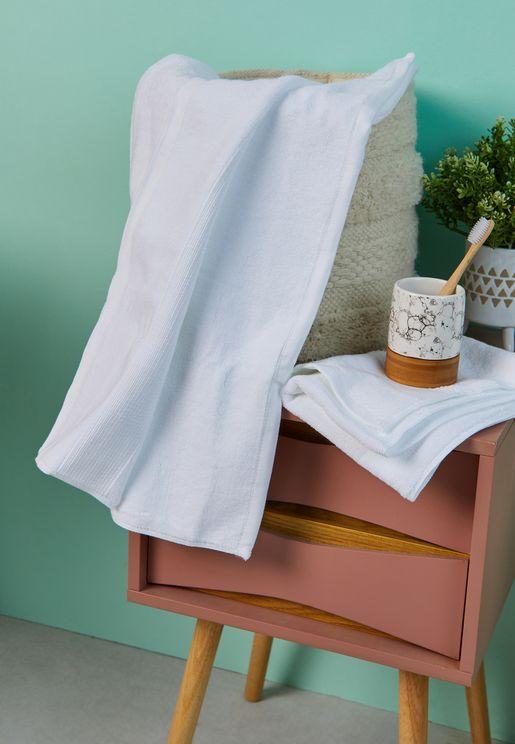 Set Of 2 Hand & Bath Towels