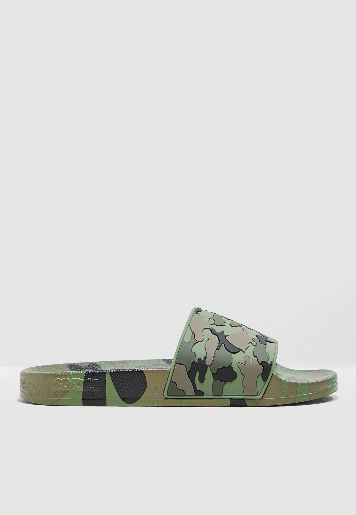 cd83f173b09f Shop Slydes khaki Cali Camo Slides LOCO for Men in Bahrain ...