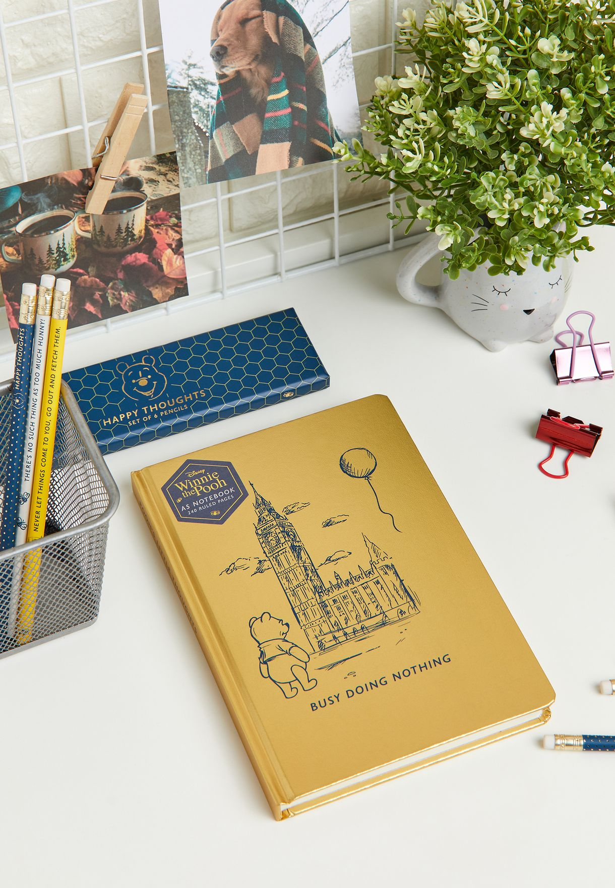 A5 Winnie The Pooh Notebook