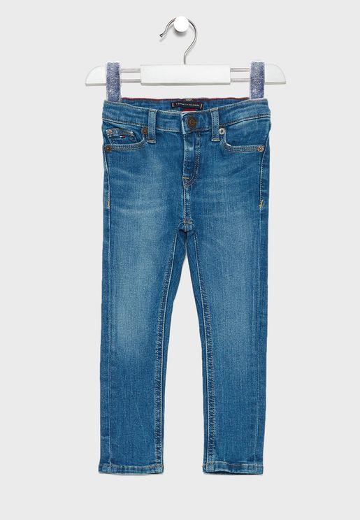 جينز ضيق للاطفال