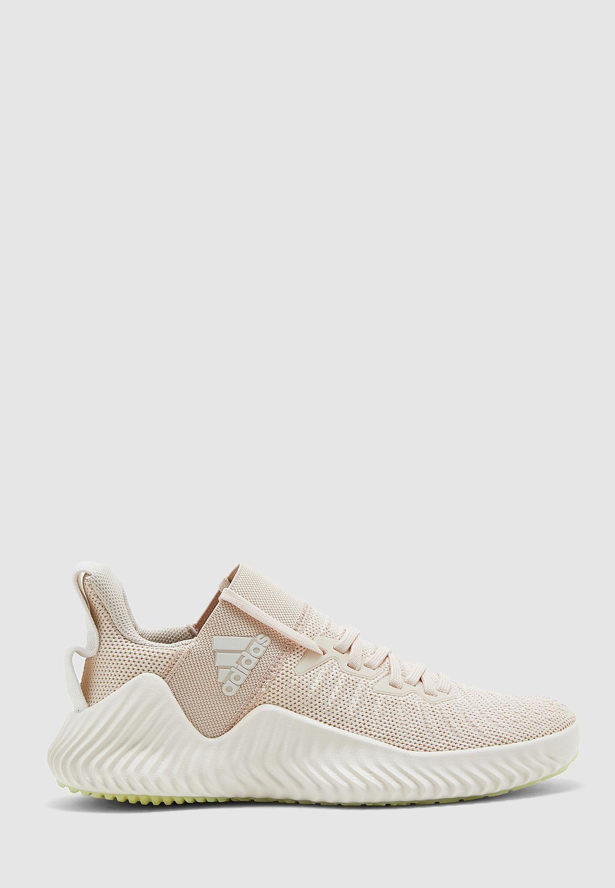 Buy adidas beige Alphabounce Trainer