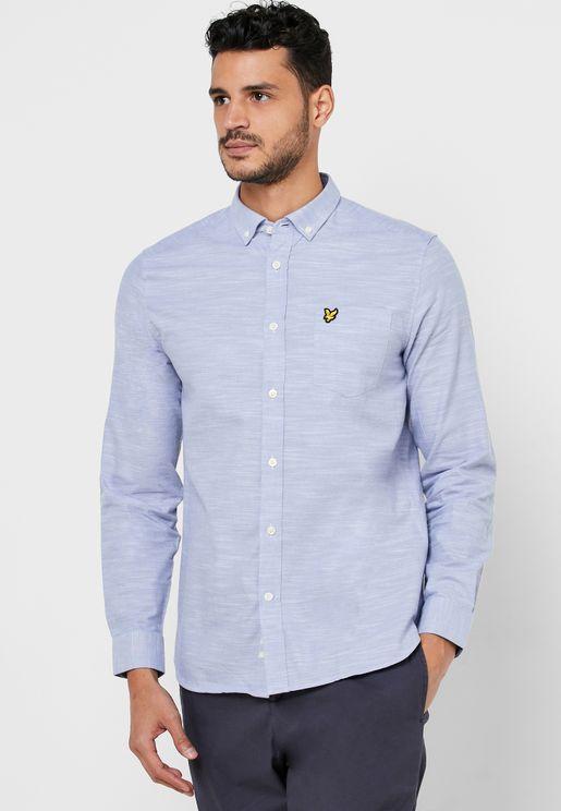 قميص اكسفورد سلم فيت