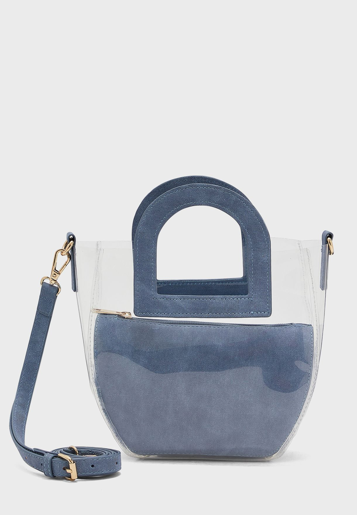 Showoff Ring Handle Tote