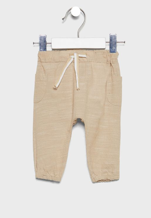 Infant Tie Waist Detail Sweatpants