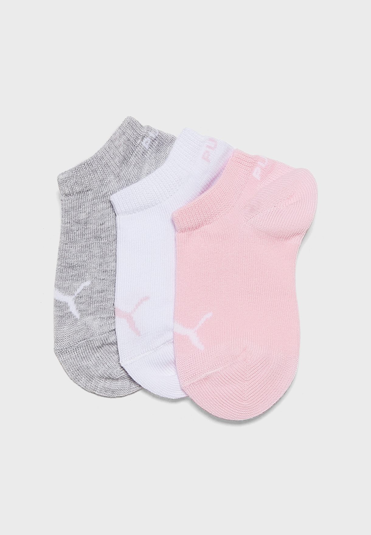Kids 3 Pack Invisible Socks