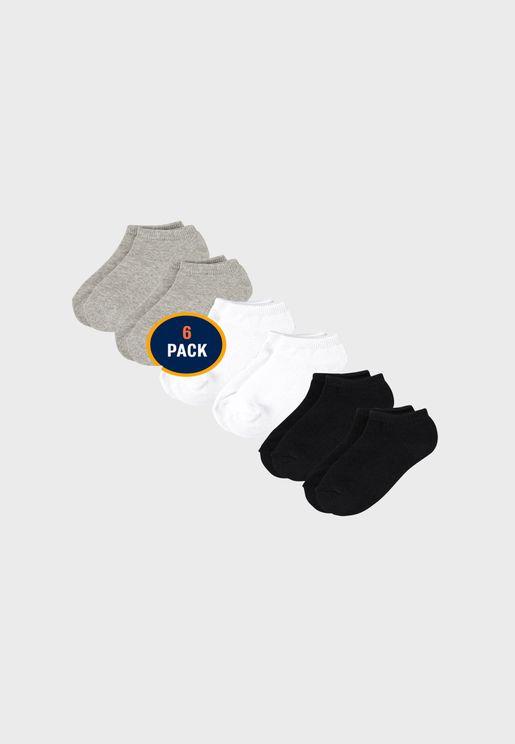 Kids 3 Pack Assorted Ankle Socks
