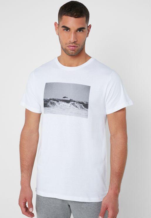 Ocean Local Crew Neck T-Shirt