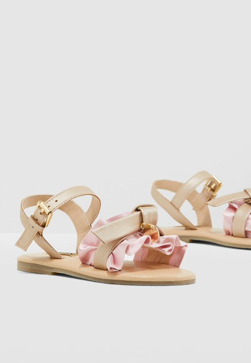 Youth Frill Sandal