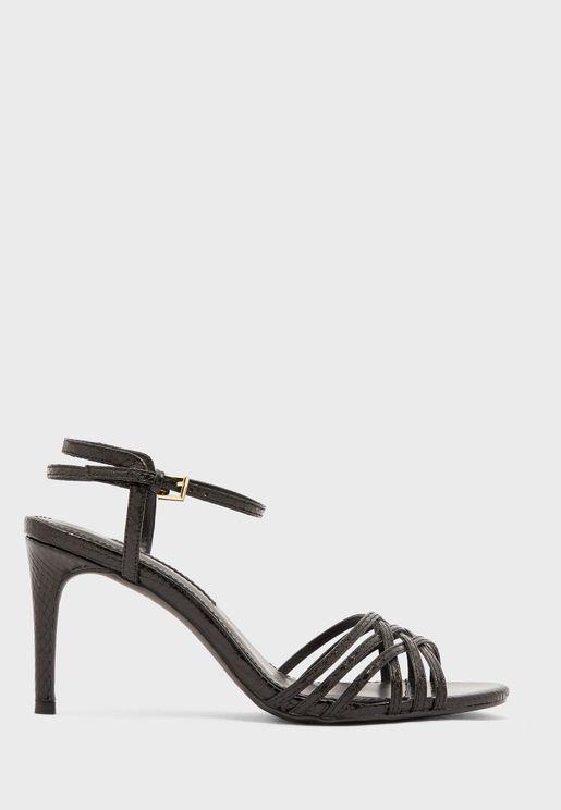 Sake Hurache Heel Sandals