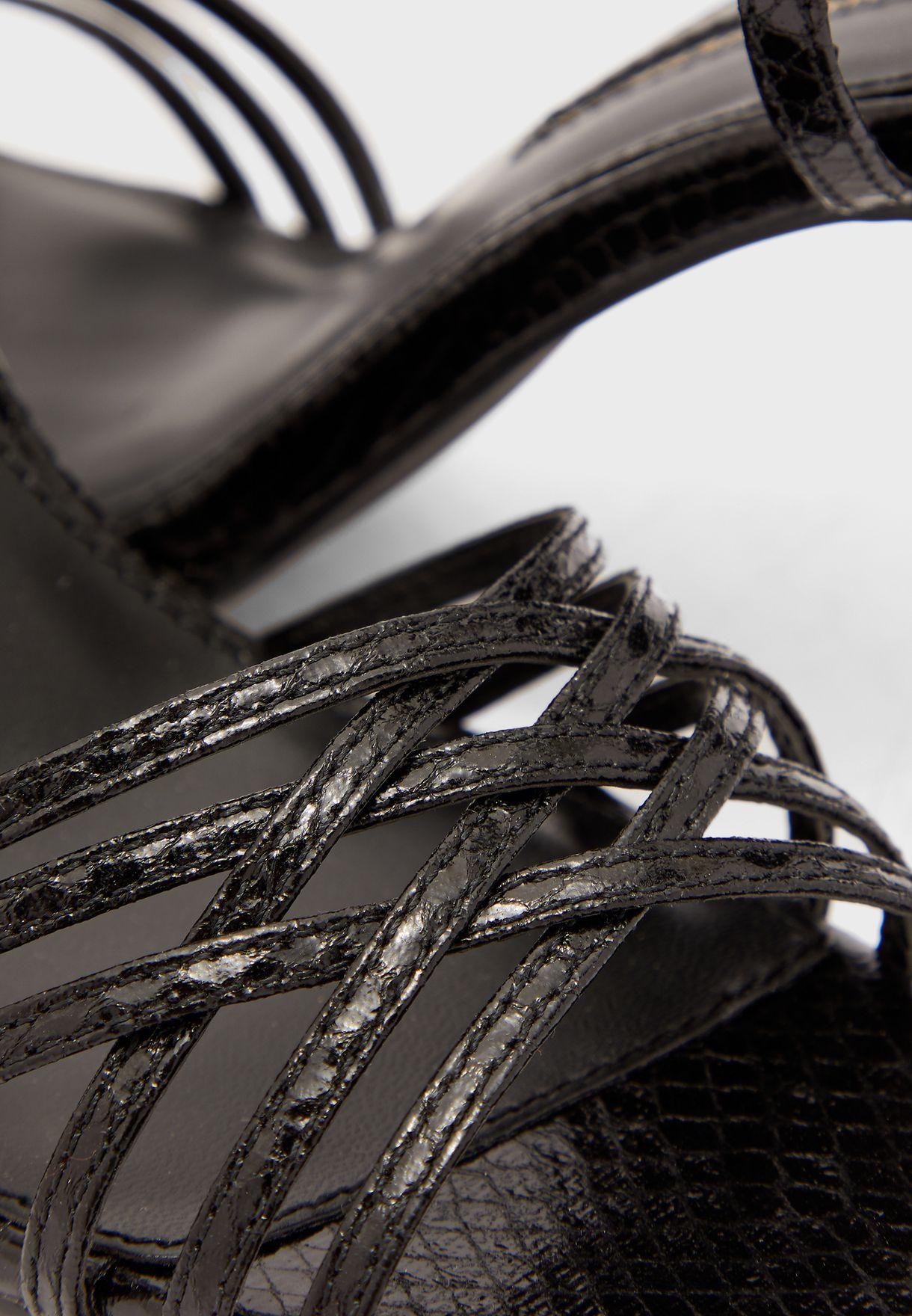Sake Hurache Heel Sandal