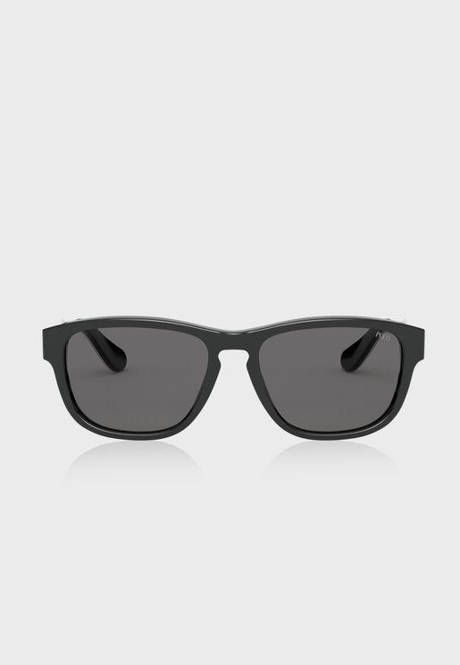 0PH4158 Oval Sunglasses