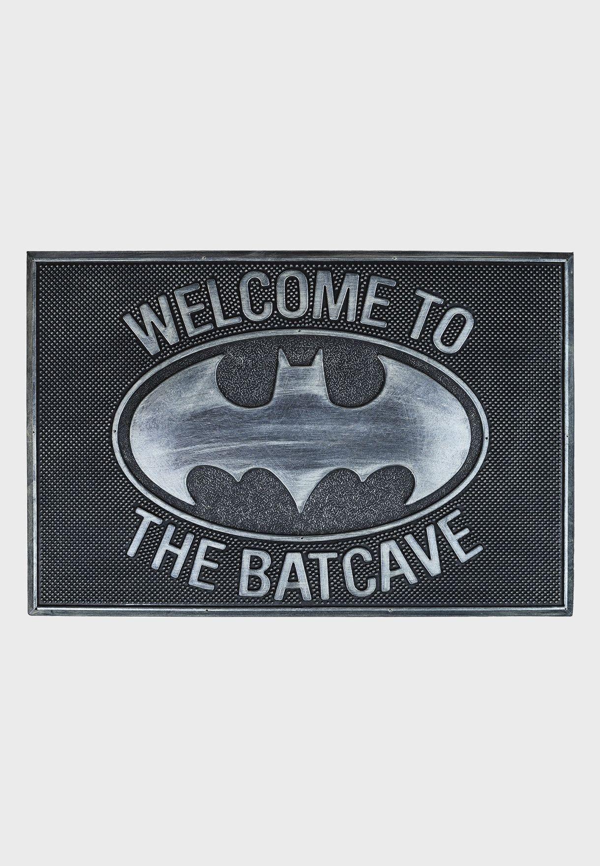 Batman Welcome To The Batcave Door Mat